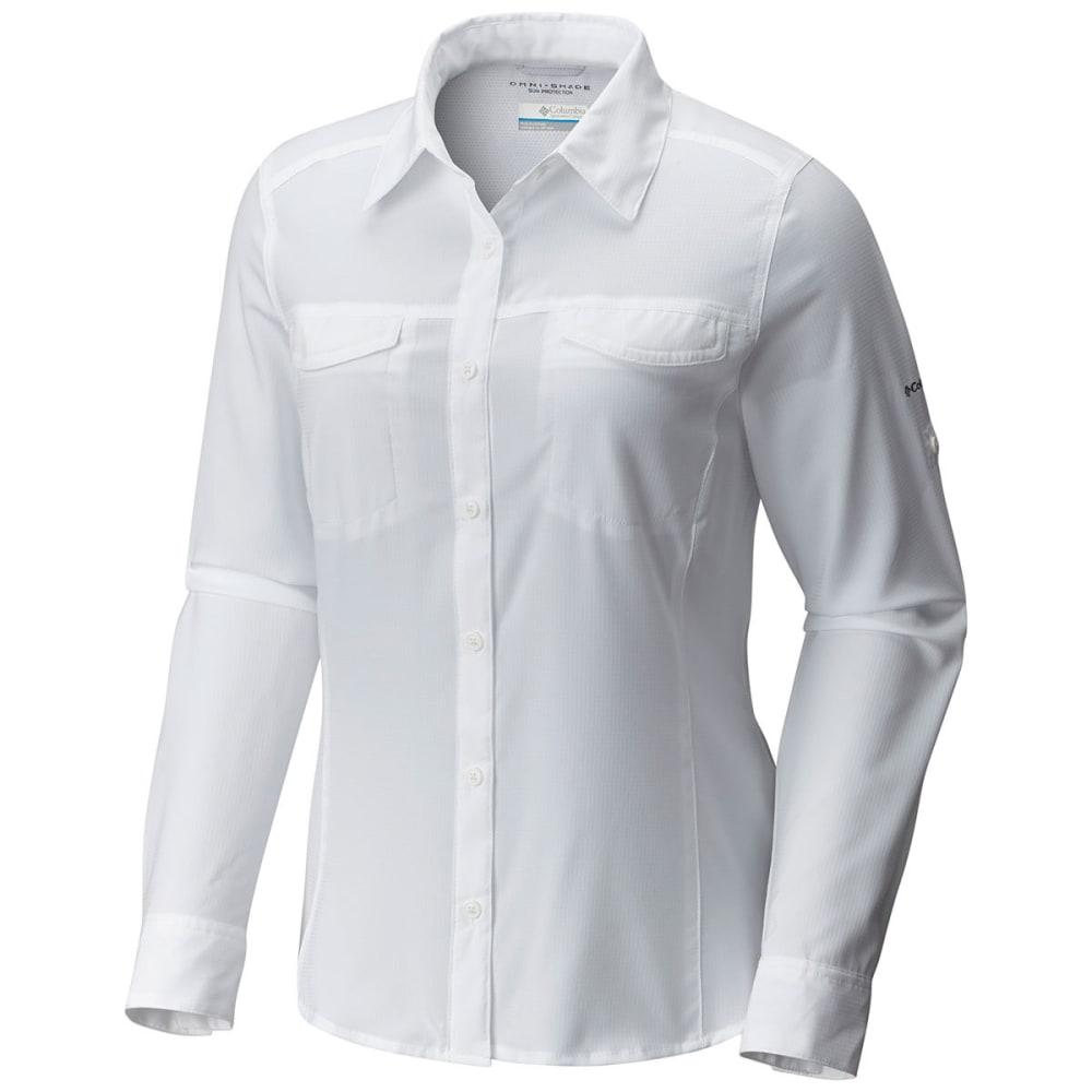 COLUMBIA Women's Silver Ridge Lite Long-Sleeve Shirt - 100-WHITE