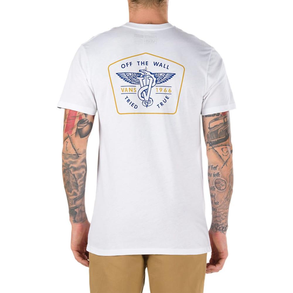 VANS Guys' Scavenger II Short-Sleeve Tee - WHITE