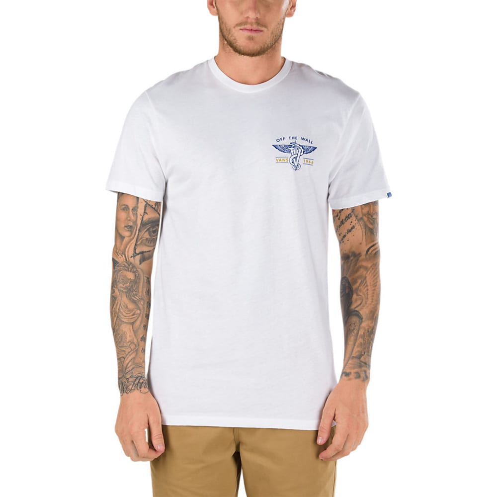 VANS Guys' Scavenger II Short-Sleeve Tee - WHITE