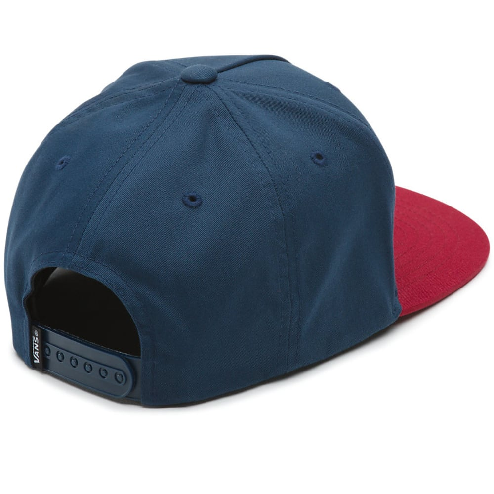 VANS Guys' Side Stripe Snapback Hat - DRESS BLUE