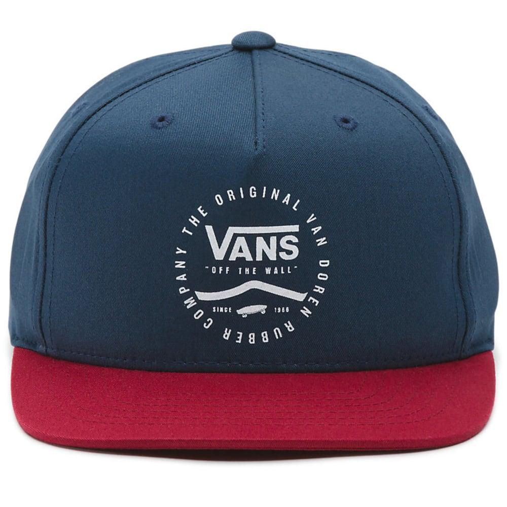 VANS Guys' Side Stripe Snapback Hat - DRESS BLUE