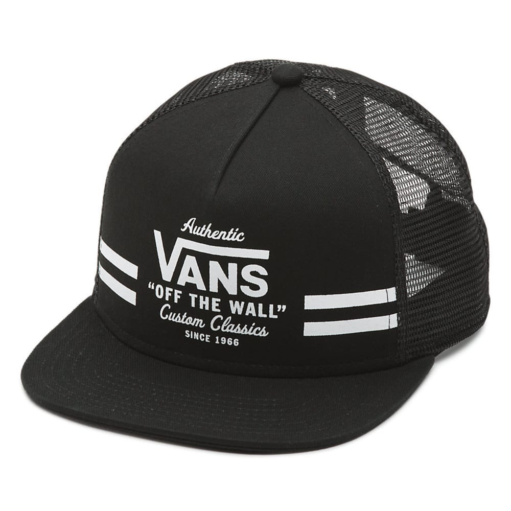 VANS Guys' Mays Trucker Hat - BLACK