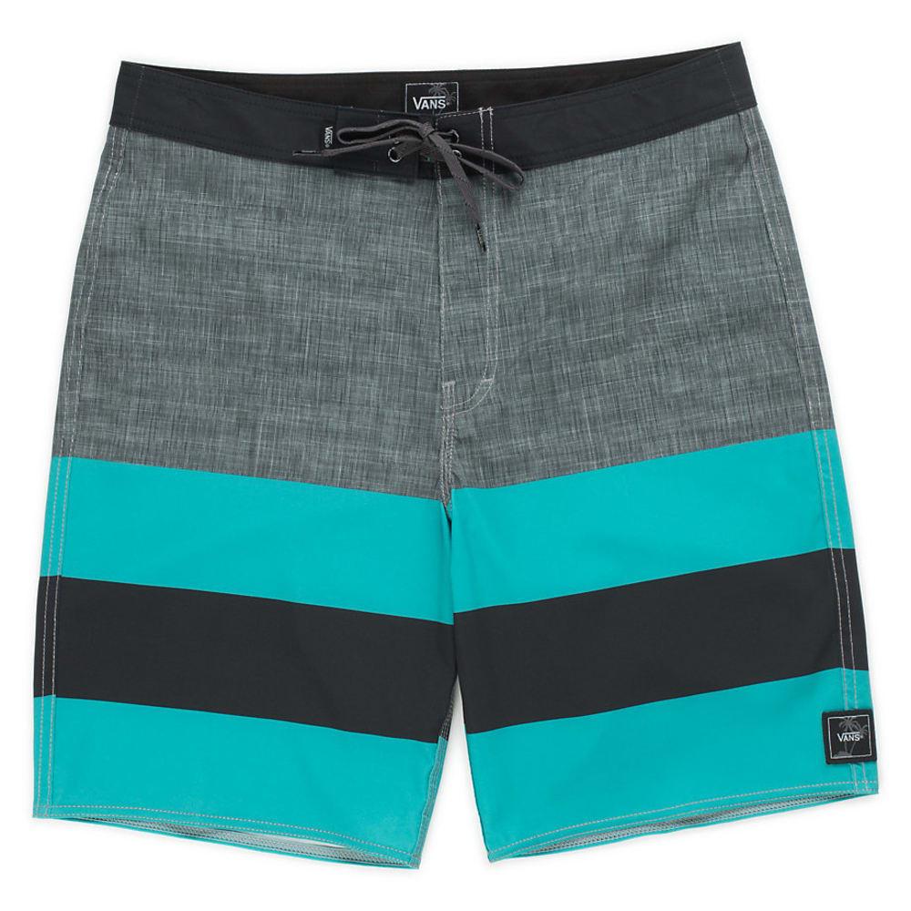 VANS Guys' 20 in. Era Boardshorts - NEW CHAR/BALTIC