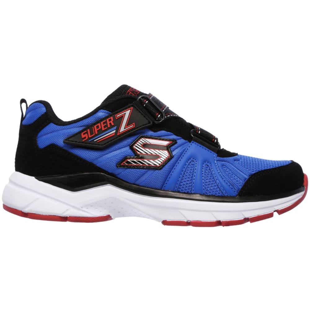 SKECHERS Boy's Ultrasonix Shoes, Blue/Black - BLAST BLUE