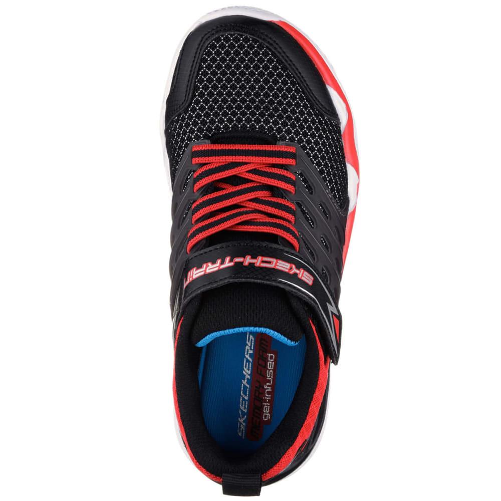 SKECHERS Boys' Skech-Train Sneakers, Black/Red - BLACK