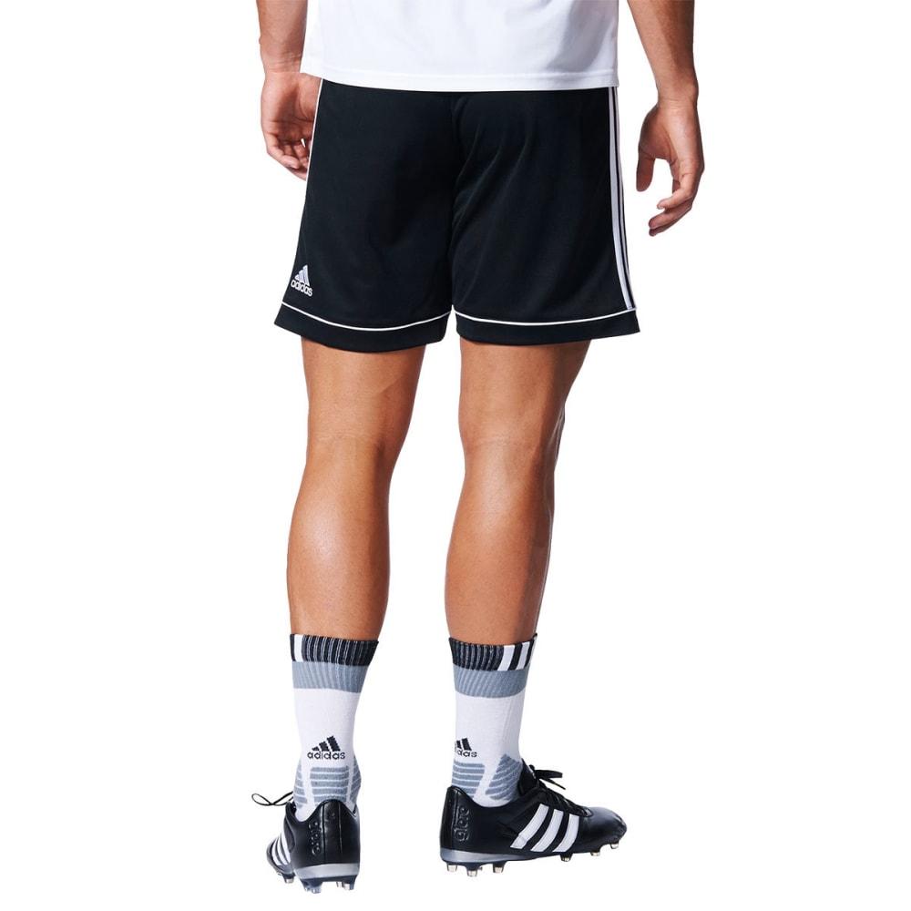 ADIDAS Men's Squadra 17 Shorts - BLK/WHT-BK4766