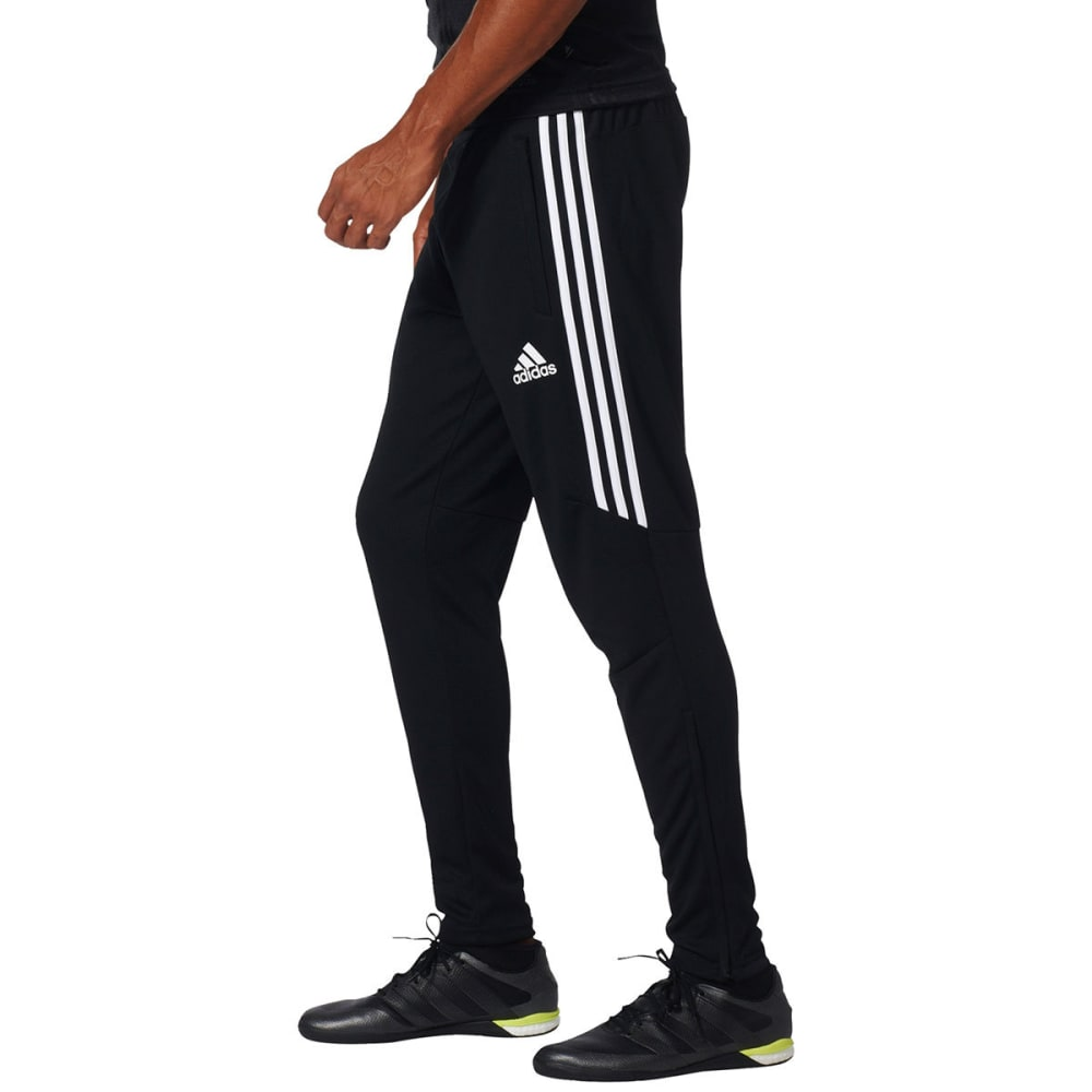 ADIDAS Men's Tiro 17 Training Pants - BLK/WHT-BS3693