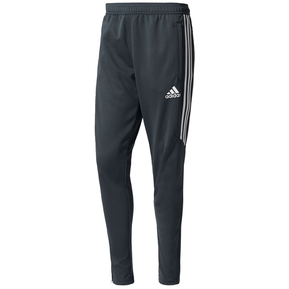 ADIDAS Men's Tiro 17 Training Pants - DK GRY/WHT-BS3678