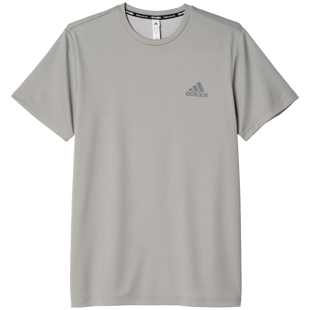 Adidas Men's Essential Tech Short-Sleeve Tee - Black, M