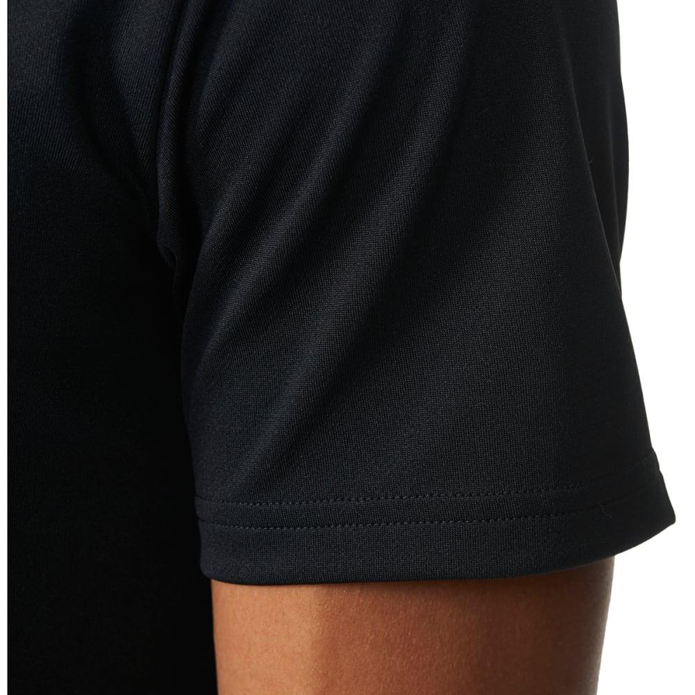 ADIDAS Men's Essential Tech Short-Sleeve Tee - BLK/VISTAGRY-AZ5138