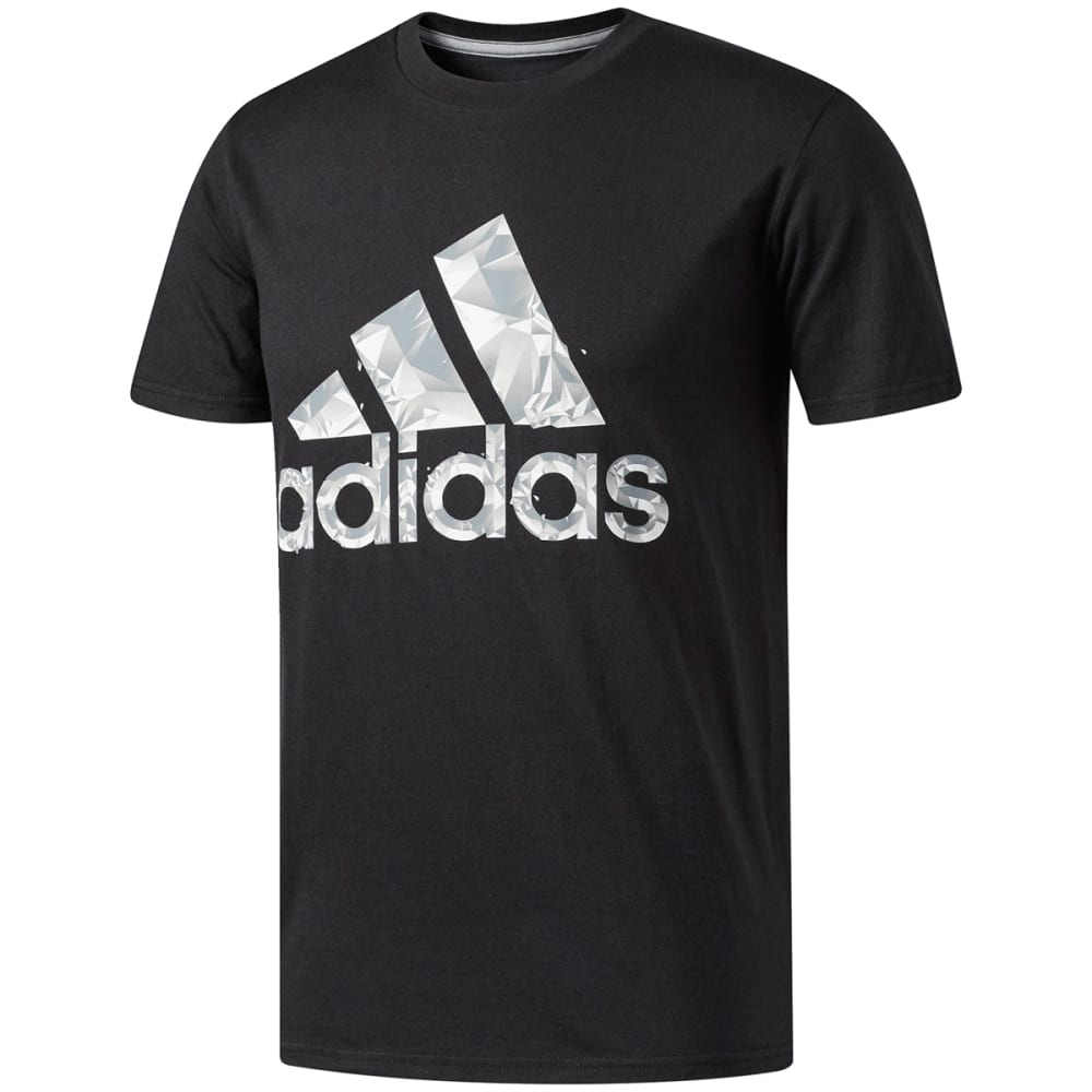 Adidas Men's Adi Shatter Short-Sleeve Tee - Black, XL