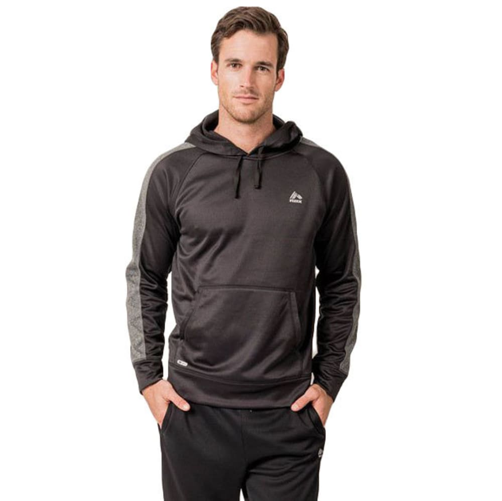 RBX Men's Stripe Tech Fleece Pullover Hoodie S