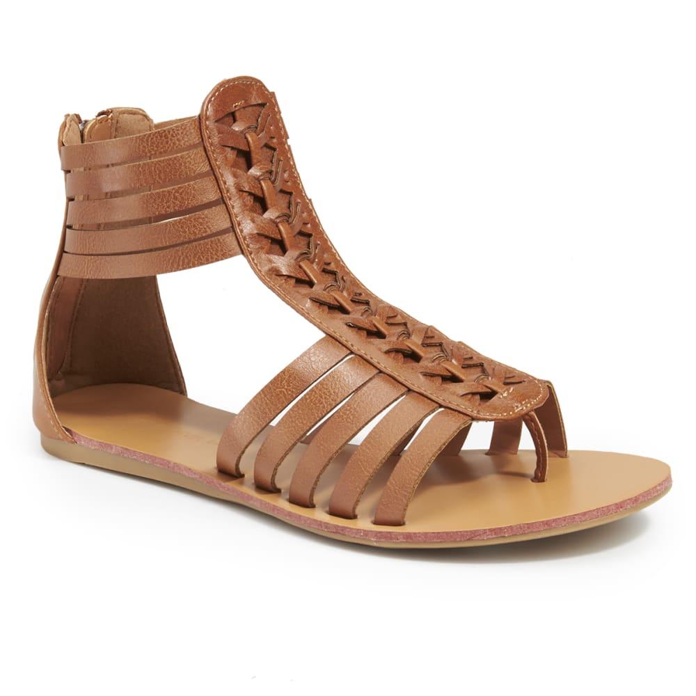 WILD DIVA Women's Clover-06 Sandals - WHISKEY