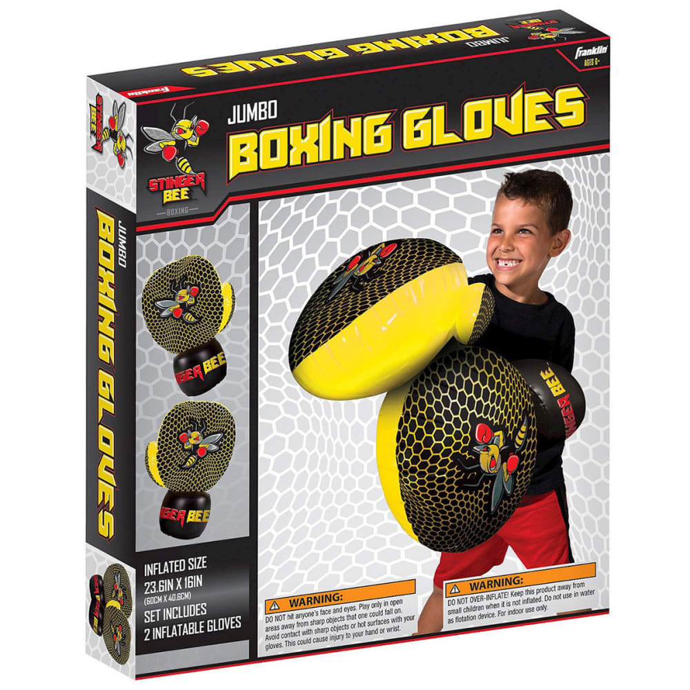 FRANKLIN SPORTS Kids' Stinger Bee Jumbo Boxing Gloves - NO COLOR