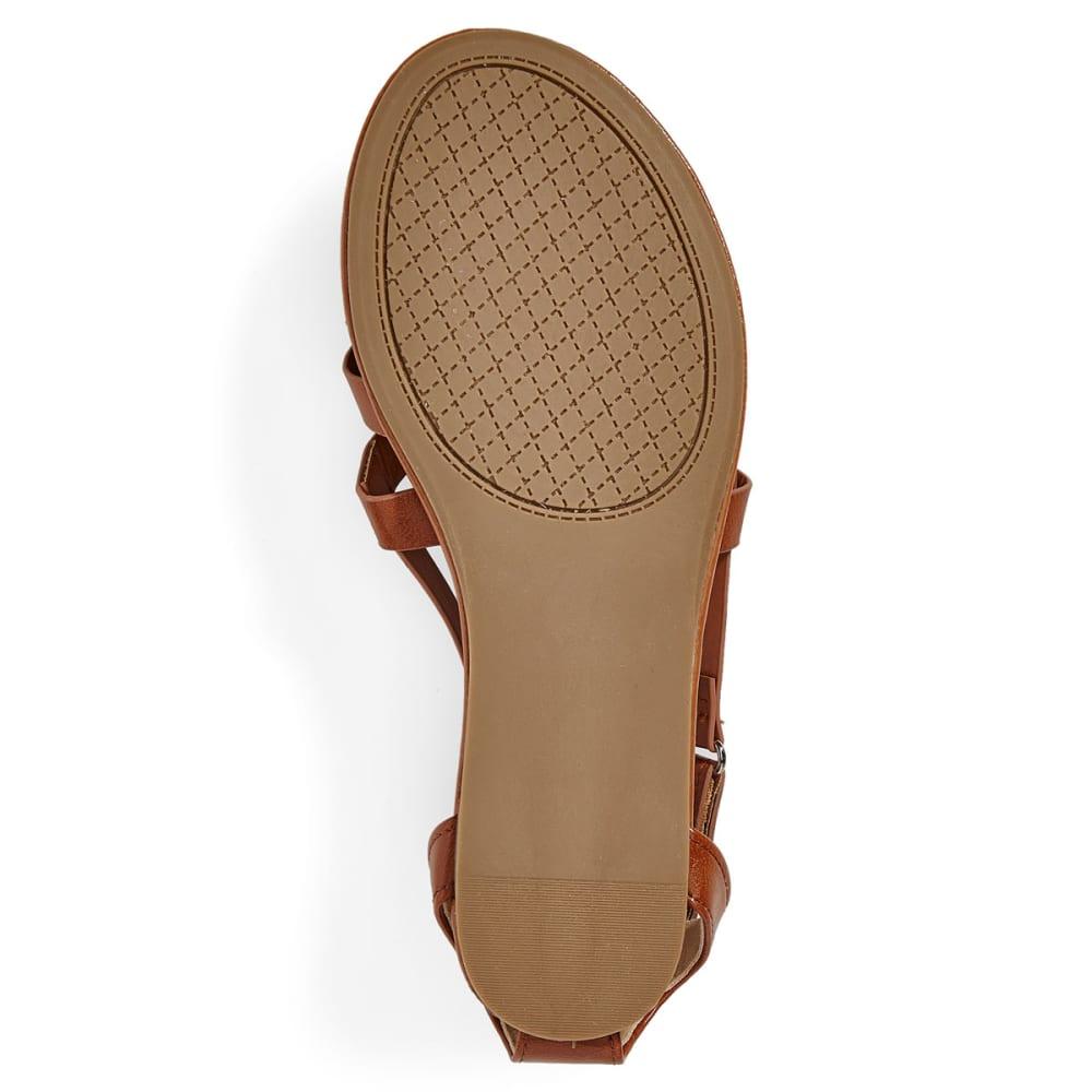 WILD DIVA Women's Clover-59 Sandals - WHISKEY