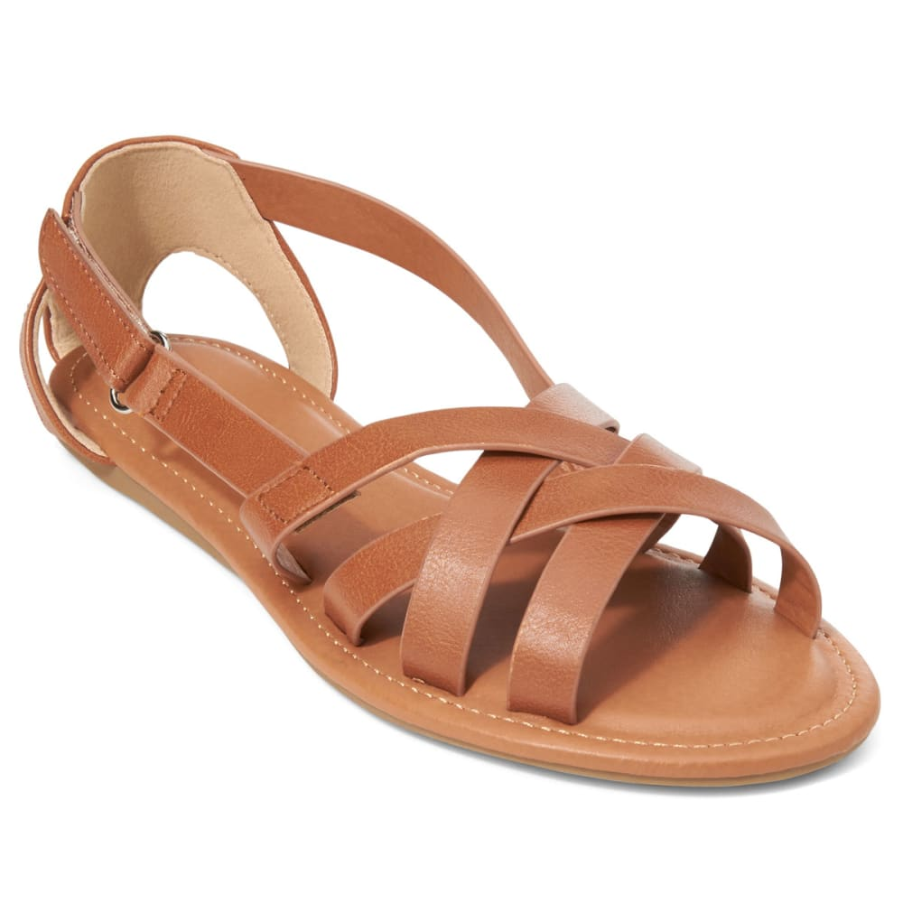WILD DIVA Women's Clover-59 Sandals - WHISKEY