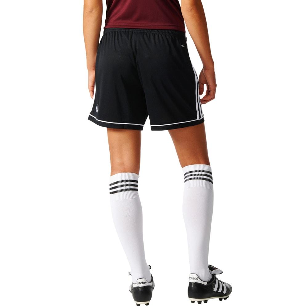 ADIDAS Women's Squadra 17 Soccer Shorts - BLK/WHT-BK4778