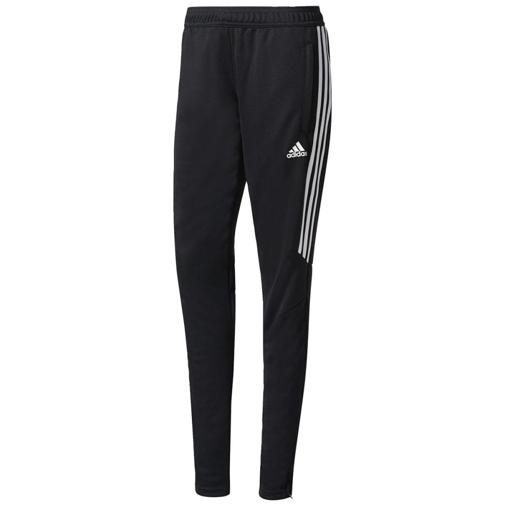 ADIDAS Women's Tiro 17 Training Pants - BLK/WHT/WHT-BS3685