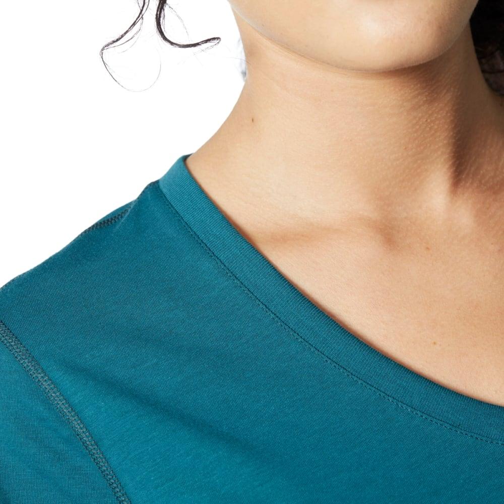 ADIDAS Women's Ultimate V-Neck Tee - MYSTRY GRN-BP9290