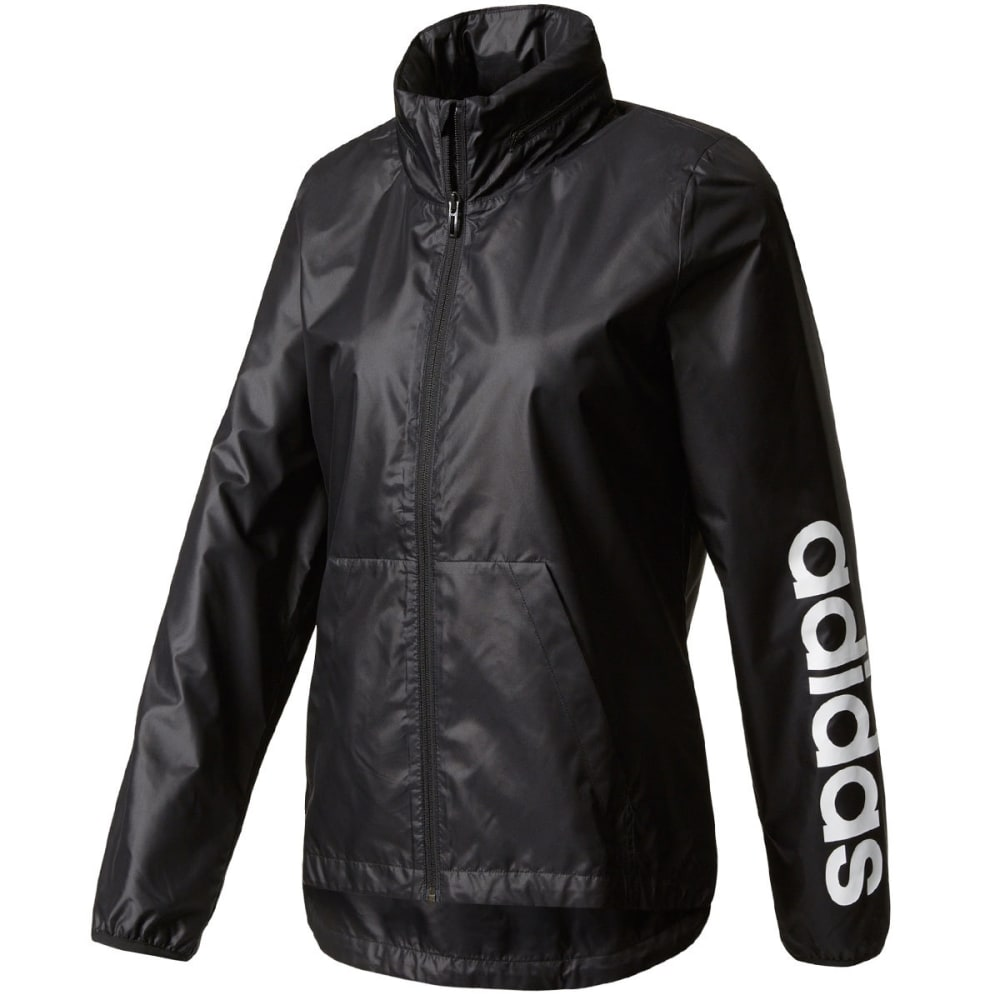 Adidas Women's Linear Training Windbreaker - Black, S