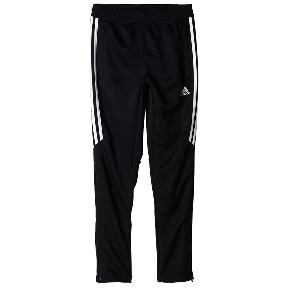 ADIDAS Boys' Tiro 17 Training Pants - BLK/WHITE-BS3690