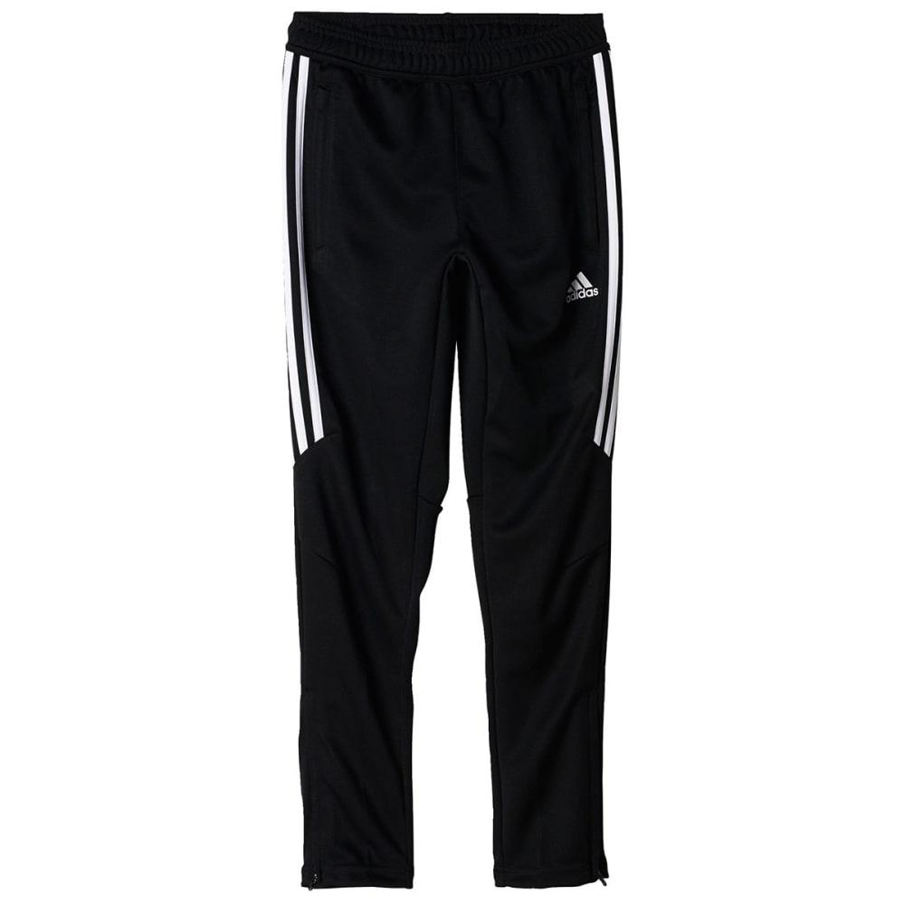 ADIDAS Boys' Tiro 17 Training Pants - BLK/WHITE-BS3690