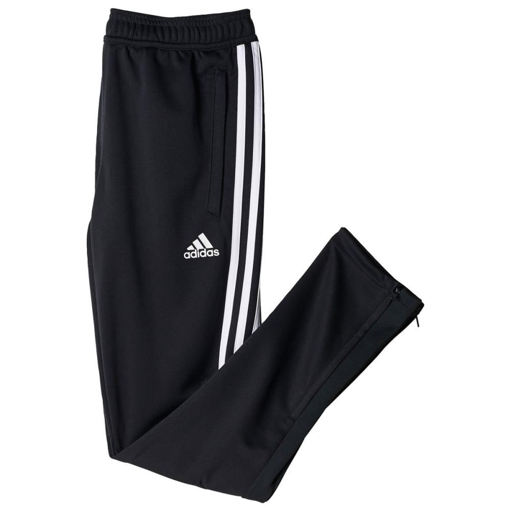 ADIDAS Boys' Tiro 17 Training Pants - DK GREY/WHITE-BS3691