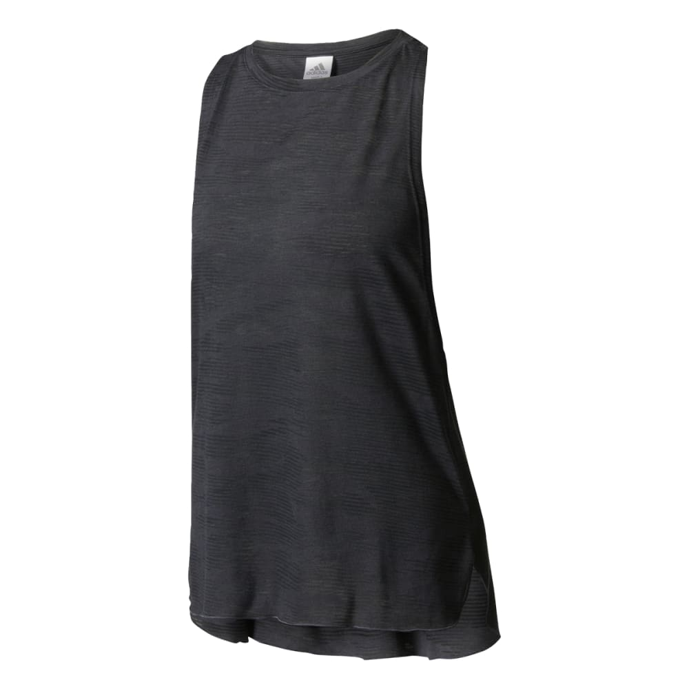 Adidas Women's Aeroknit Boxy Tank Top - Black, S