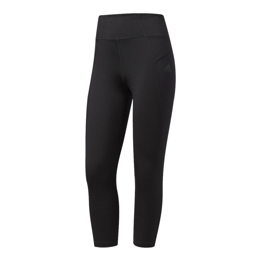 Adidas Women's Performer High-Rise Three-Quarter Tights - Black, S