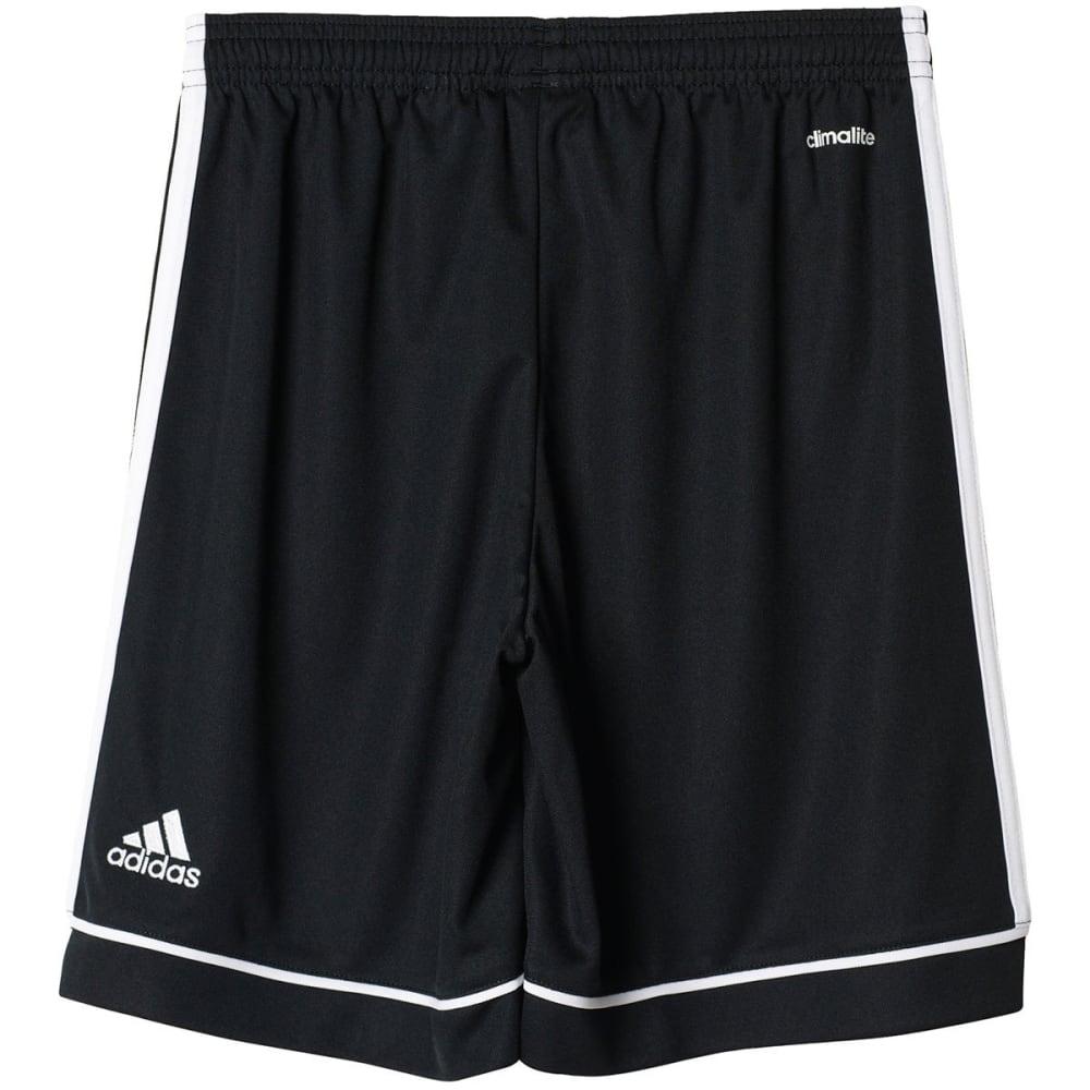 ADIDAS Boys' Squadra 17 Shorts - BLK/WHITE-BK4772
