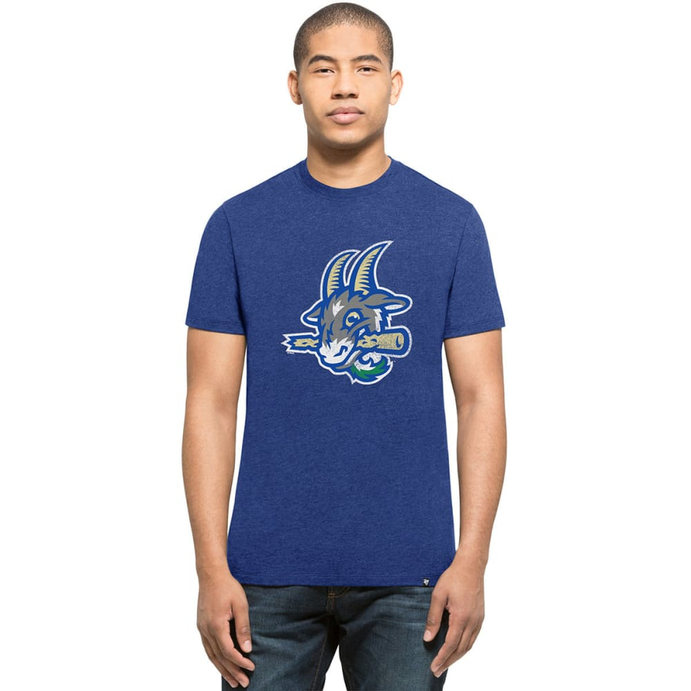 HARTFORD YARD GOATS Men's Knockaround '47 Club Short-Sleeve Tee - ROYAL BLUE