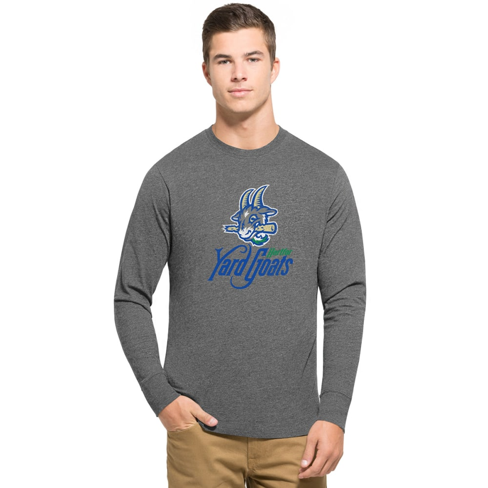 HARTFORD YARD GOATS Men's 47 Club Long Sleeve Tee - GREY