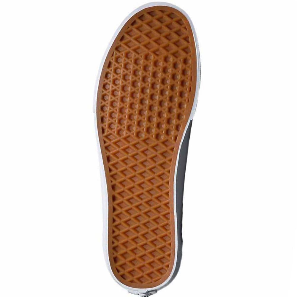 VANS Men's Brigata Washed Canvas Skate Shoes - BLACK