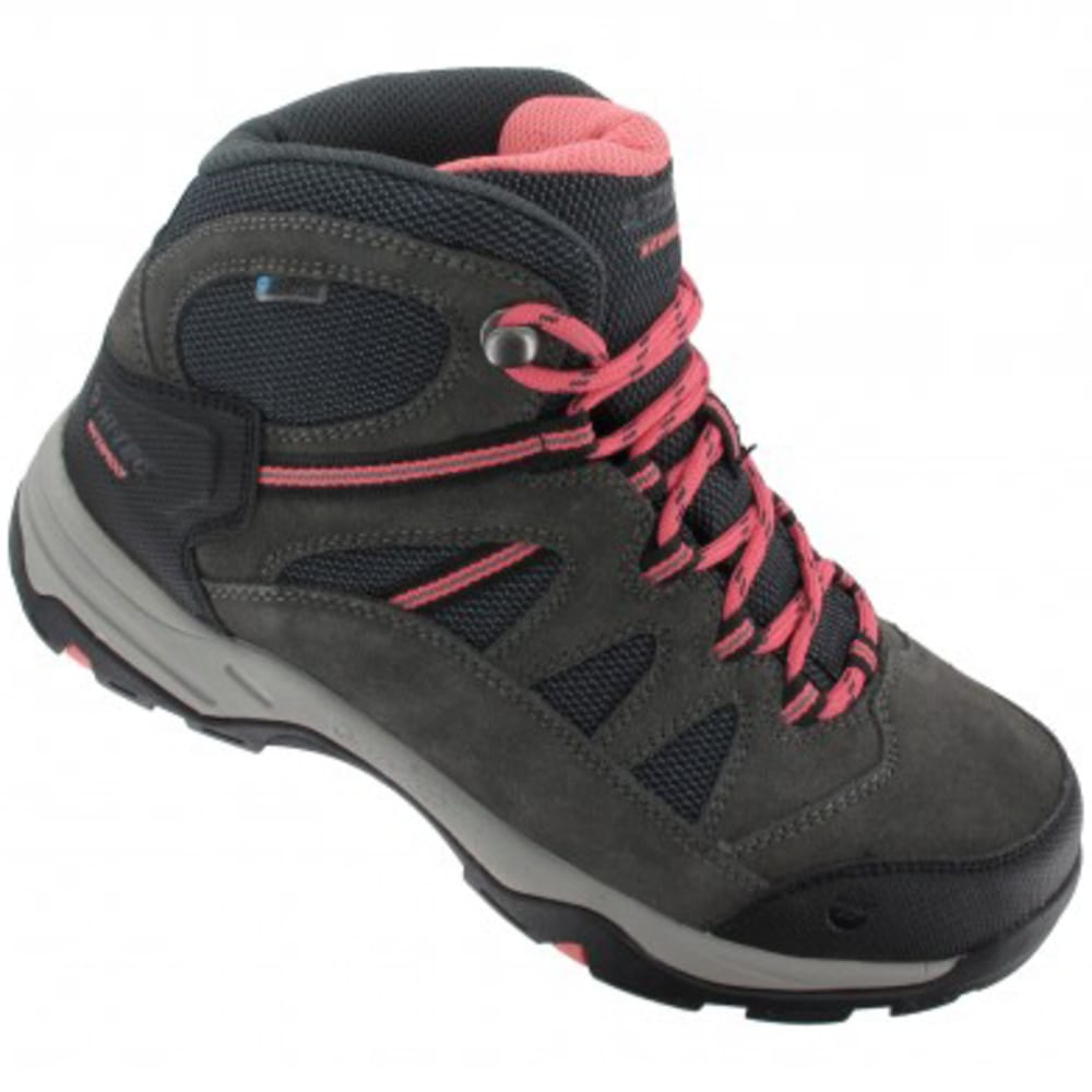 HI-TEC Women's Bandera II Mid Waterproof Hiking Boots - CHARCOAL