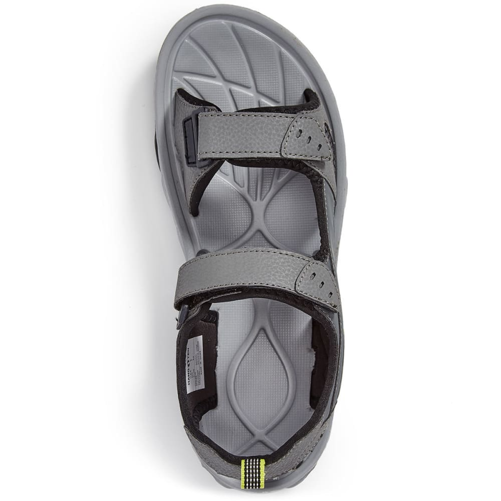 HANG TEN Men's Carlsbad Sandals - GREY