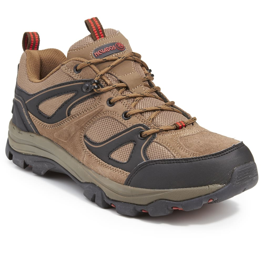 NEVADOS Men's Talus Low Hiking Shoes - CHOCOLATE CHIP