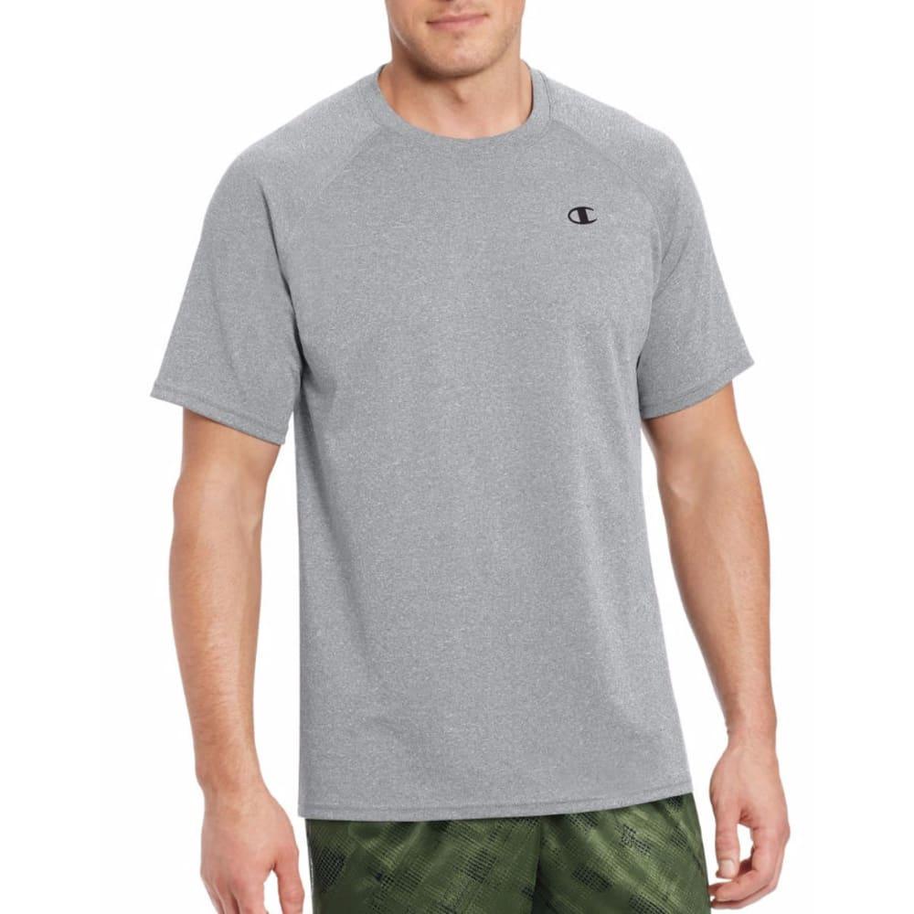 CHAMPION Men's Vapor Select Short-Sleeve Tee - OXFORD GREY-806