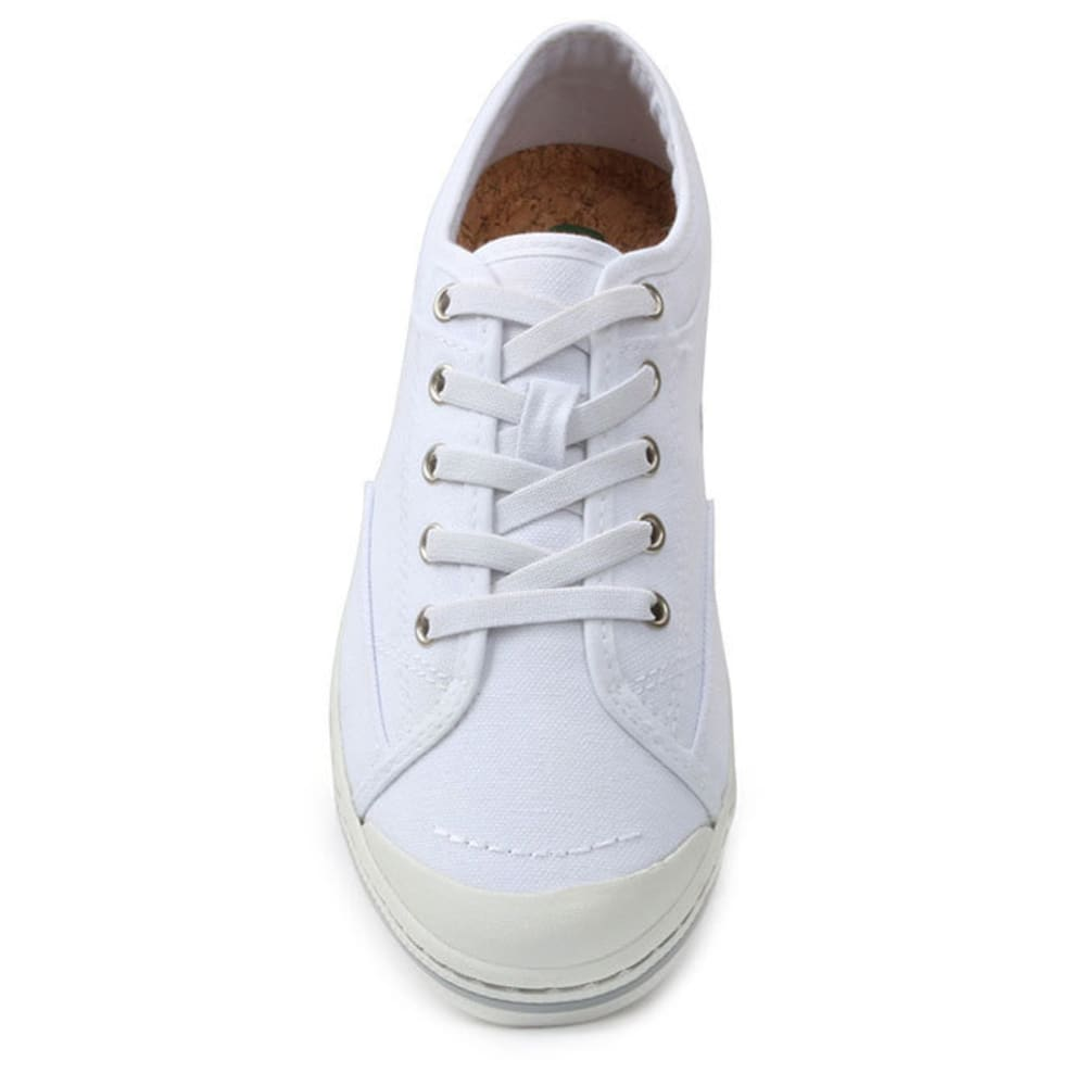 SIMPLE Women's Satire Canvas Shoes - WHITE