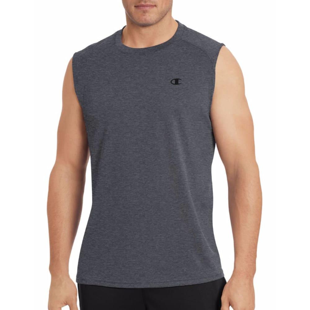 CHAMPION Men's Vapor Select Muscle Tee - GRANITE-G61