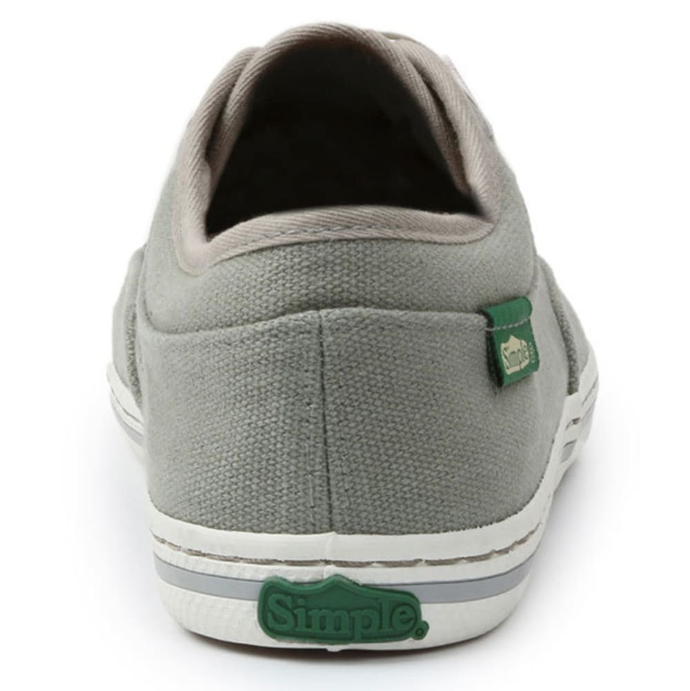 SIMPLE Women's Satire Canvas Shoes - CHARCOAL
