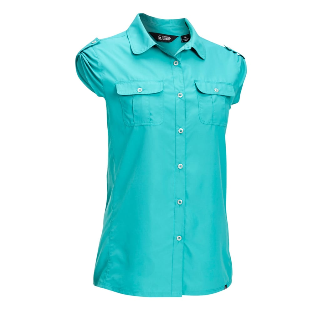 EMS® Women's Compass UPF Short-Sleeve Shirt - LATIGO BAY