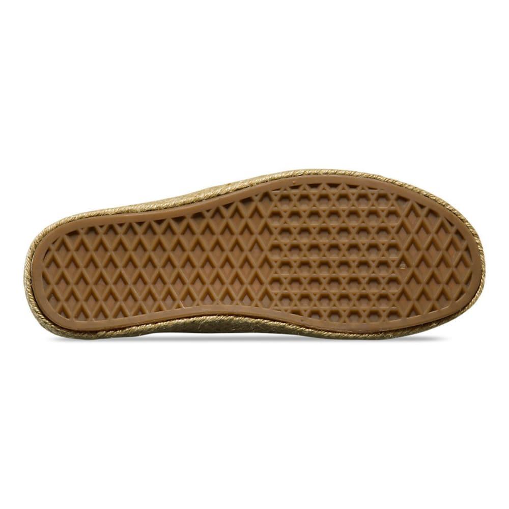 VANS Women's Authentic Espadrille Sneakers, Micro Stripes - NAVY STRIPES
