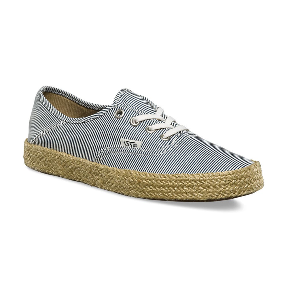 VANS Women's Authentic Espadrille Sneakers, Micro Stripes 6