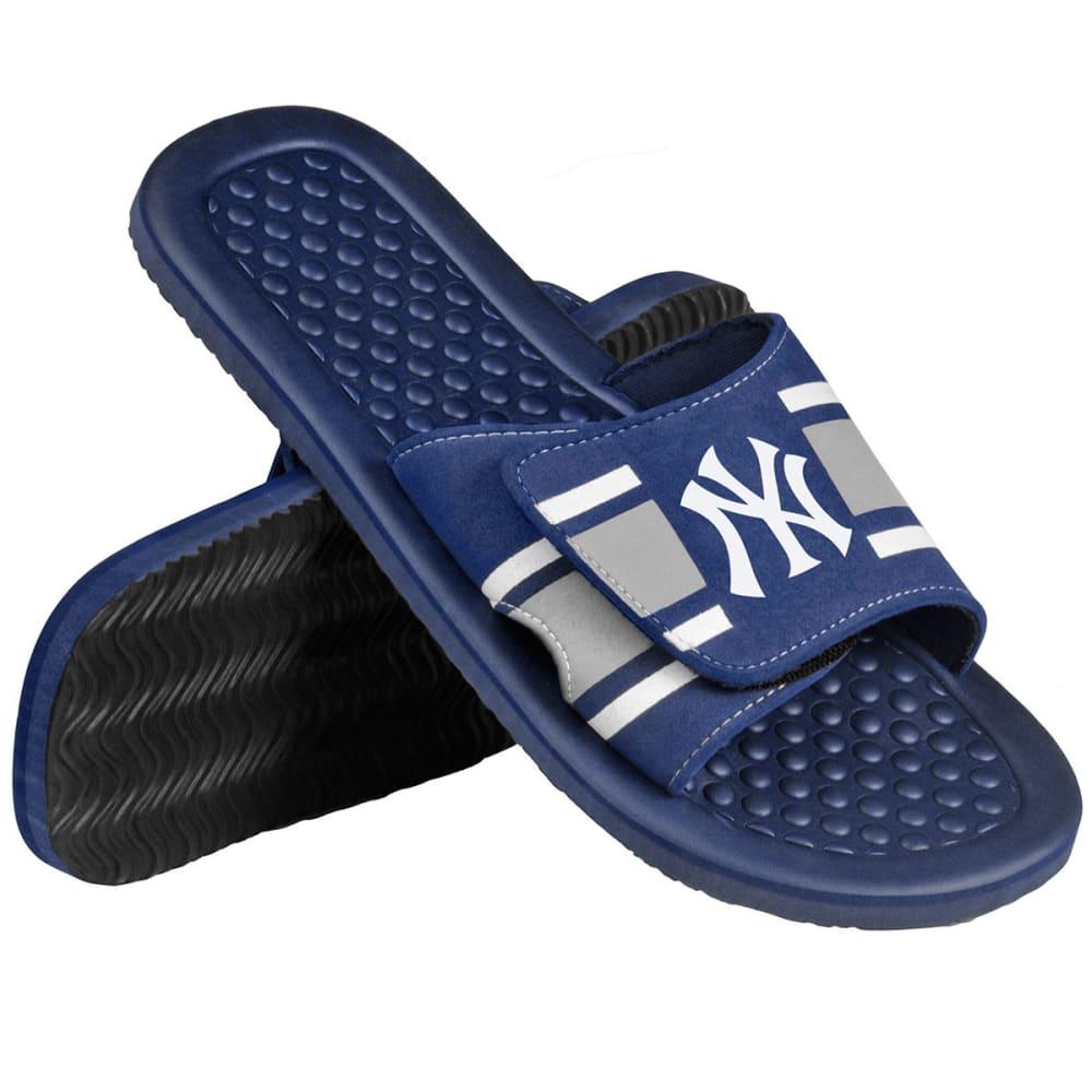 NEW YORK YANKEES Boys' Slide Slippers - NAVY