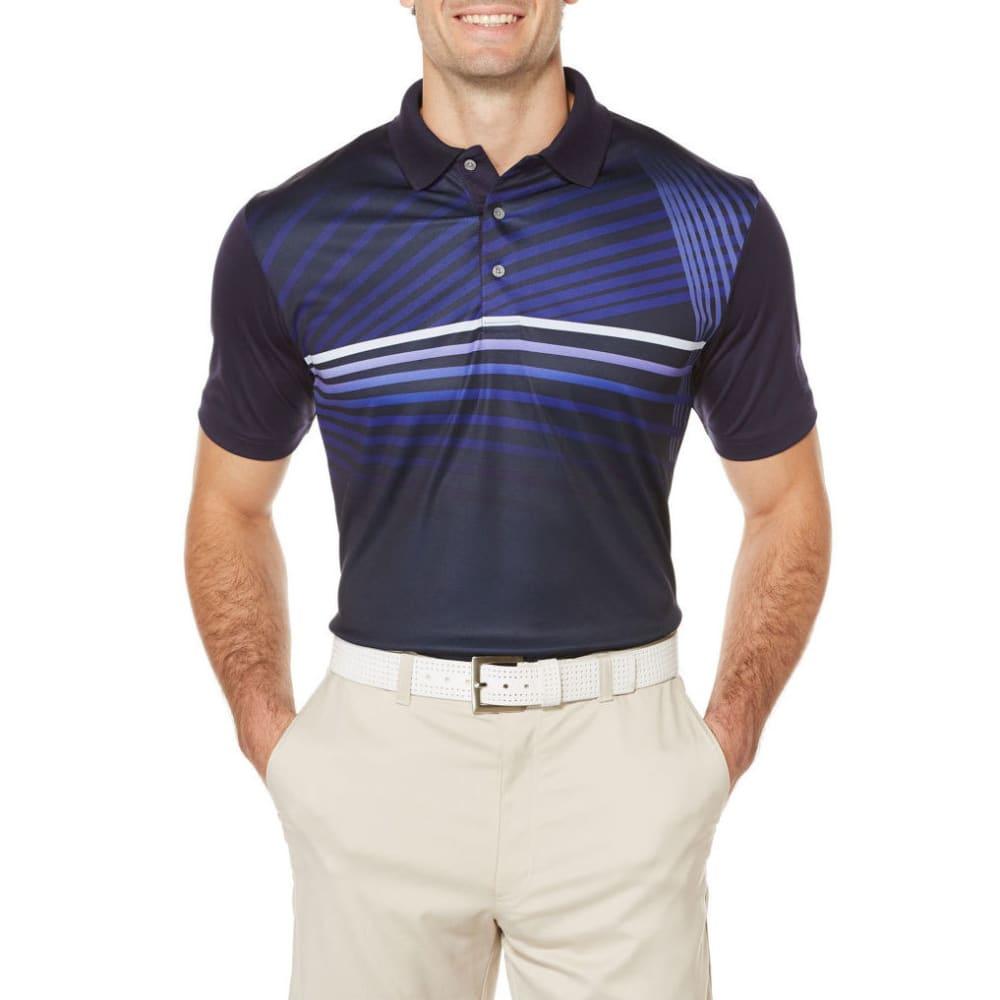 PGA Men's Contour Fading Polo - EVENING BLUE-471