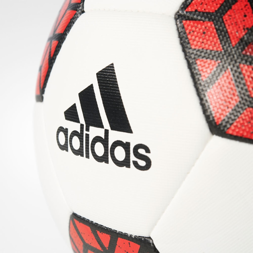 ADIDAS Ace Glider Soccer Ball - WHITE/RED/BLACK