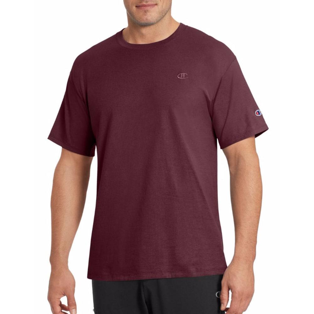 CHAMPION Men's Classic Jersey Short-Sleeve Tee M