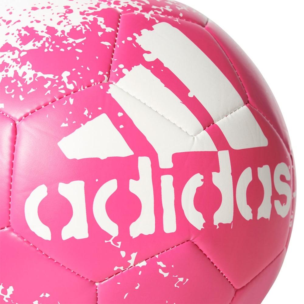 ADIDAS X Glider II Soccer Ball - WHITE/SHOCK PINK