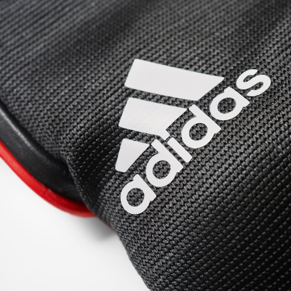 ADIDAS Ghost Club Soccer Shin Guards - RED/WHITE