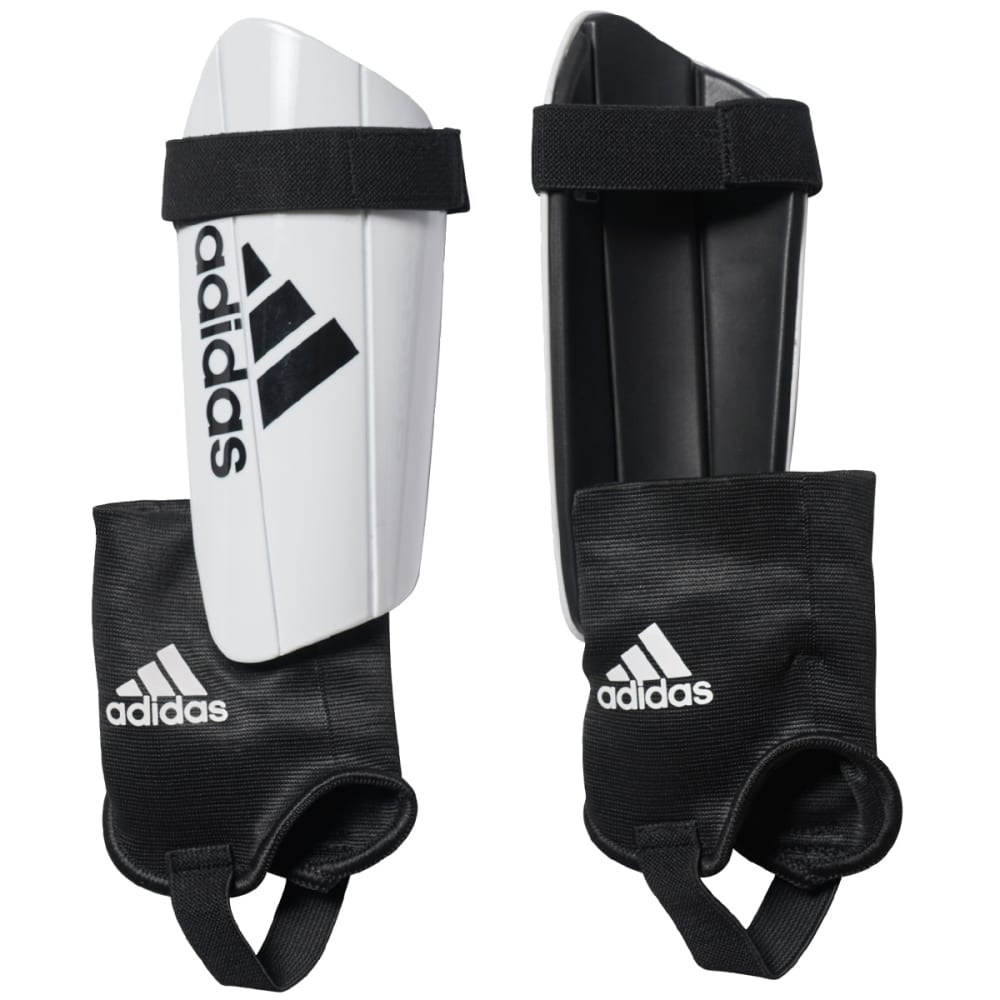 ADIDAS Ghost Club Soccer Shin Guards - WHITE/BLACK